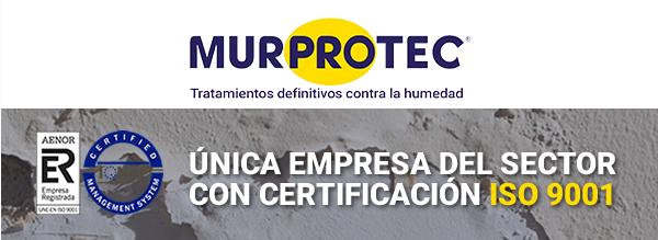 Murprotec logra el certificado ISO 9001 por su firme compromiso con la calidad