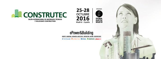 Murprotec, presente en la Feria de la Construcción CONSTRUTEC 2016