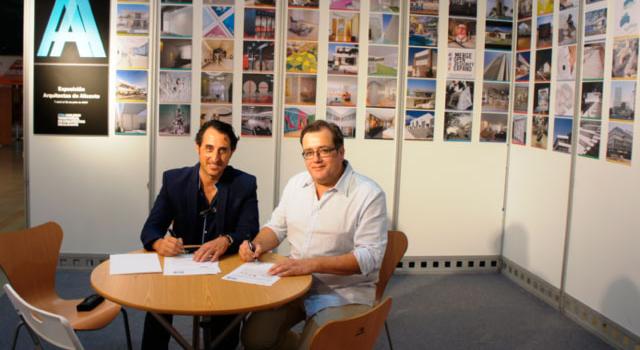 Murprotec firma un acuerdo con Plazatio, la plataforma social del Colegio Territorial de Arquitectos de Alicante