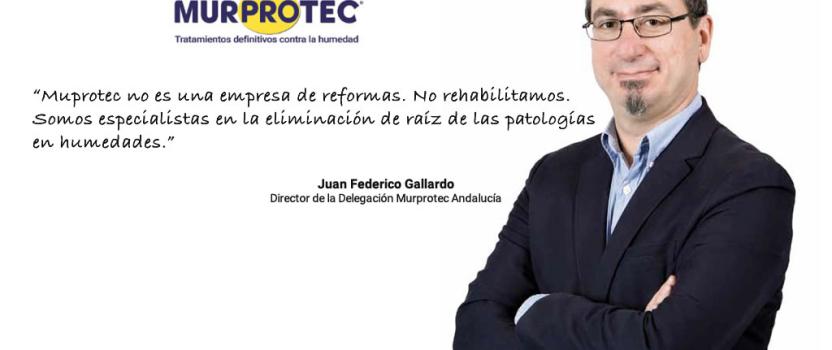Entrevista a Juan Federico Gallardo (Director de la Delegación Murprotec Andalucía) en la revista El Administrador