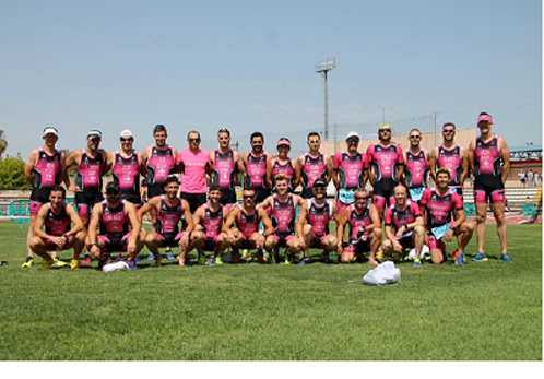 Murprotec, nuevo patrocinador del equipo de triatlón Califas de Hierro