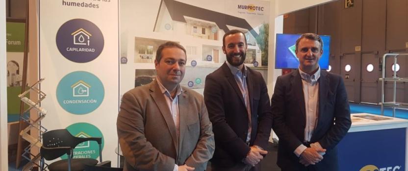 Murprotec participa en CONSTRUTEC, el Salón Internacional de Materiales, Técnicas y Soluciones Constructivas