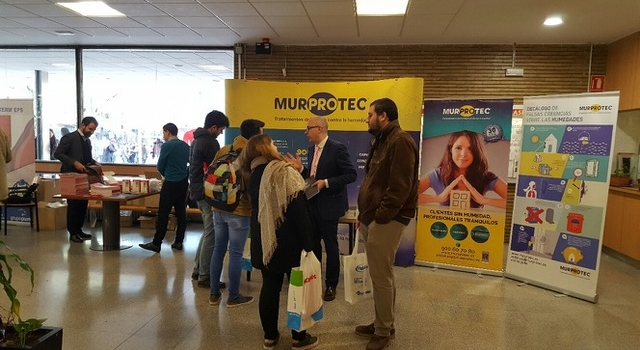 La Universidad de Sevilla reconoce a Murprotec  su apuesta por la construcción sostenible