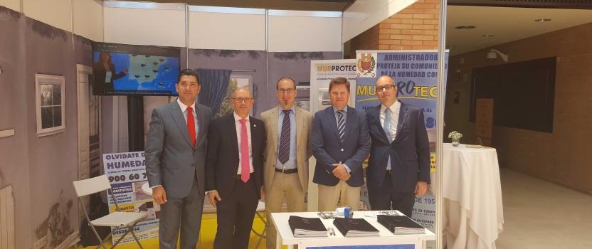 Murprotec presenta a los Administradores de Fincas los últimos avances en tratamientos antihumedad