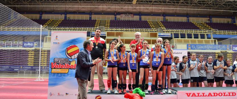 El equipo CV Cervantes Guadaíra, patrocinado por Murprotec, subcampeón de España