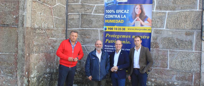 Palas de Rei soluciona el problema de humedades de la iglesia de San Tirso