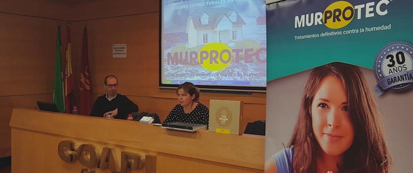 El sector inmobiliario se forma en humedades estructurales de la mano de Murprotec