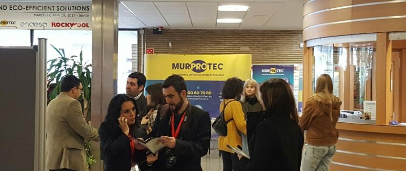 Murprotec, presente en el III Congreso Internacional y V Nacional de Construcción Sostenible y Soluciones-Ecoeficientes